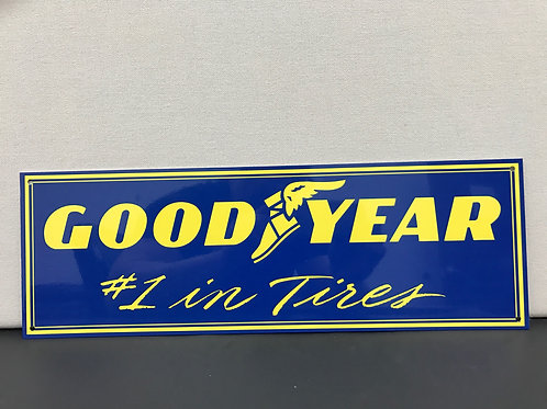 GOOD YEAR TIRES REPRODUCTION SIGN