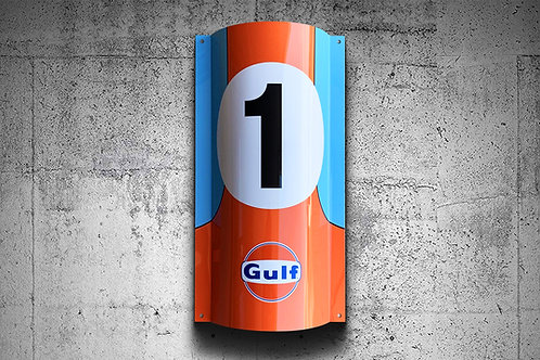 Gulf Racing GT40 Nr.1 Sign