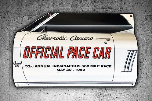 1969 Indy 500 Camaro Pace Car