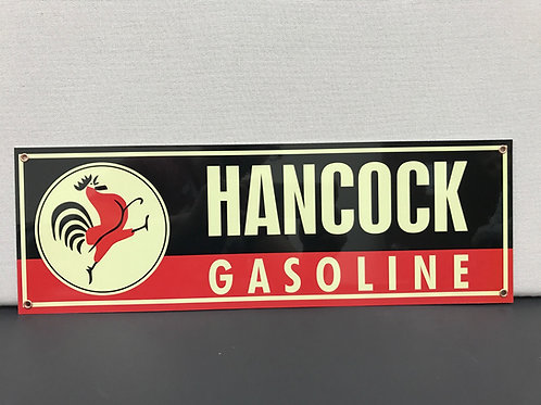 Hancock Gasoline Vintage Sign