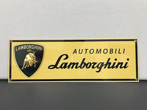 LAMBORGHINI REPRODUCTION SIGN