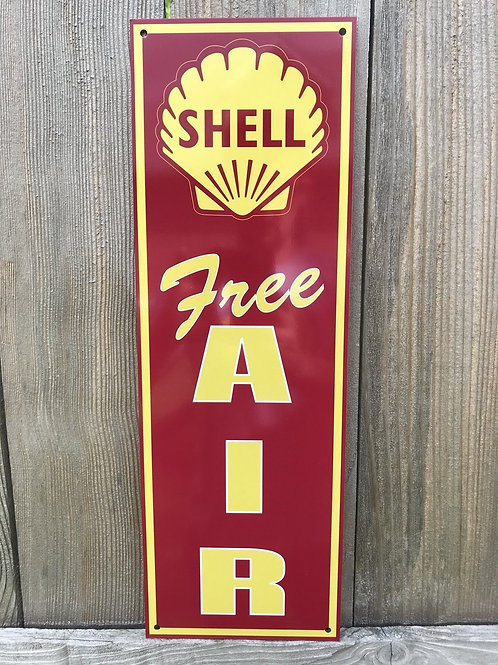 Shell Free Air Sign