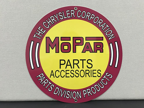 MOPAR VINTAGE SERVICE REPRODUCTION SIGN
