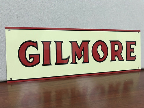 Gilmore Lion Gasoline Sign