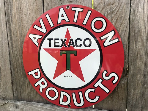Texaco Aviation Sign