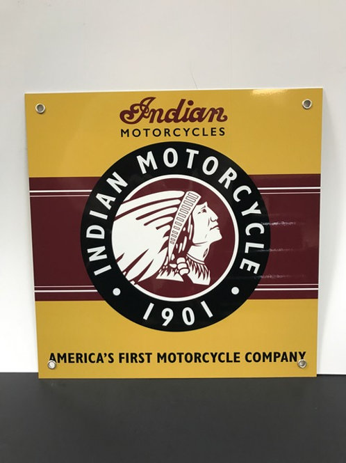 INDIAN MOTORCYCLE REPRODUCTION SIGN