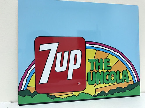 7UP THE UNCOLA REPRODUCTION SIGN