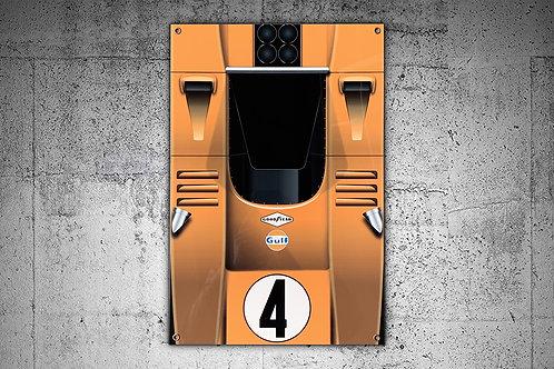 Bruce McLaren M8A Top View