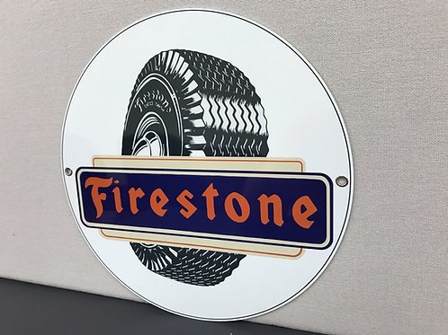 FIRESTONE TIRE REPRODUCTION SIGN