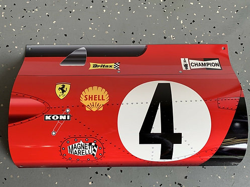 Jacky Ickx Mario Andretti Ferrari Le Mans Formula 1