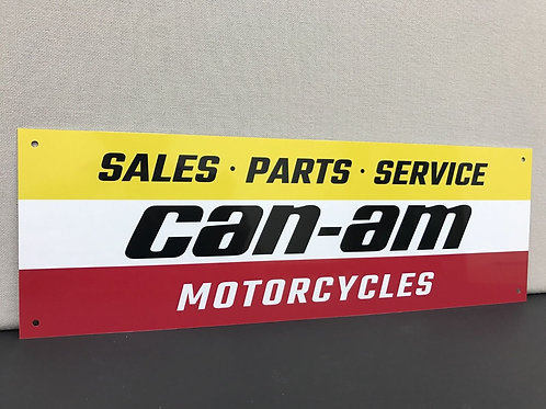 CAN AM MOTORCYCLES REPRODUCTION SIGN
