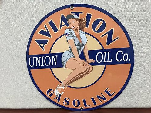 Union Oil Aviation Gasoline