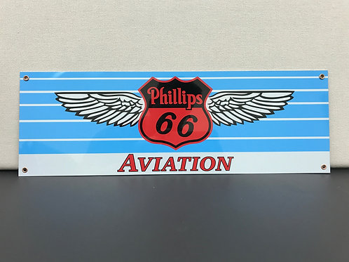 PHILLIPS 66 AVIATION REPRODUCTION SIGN
