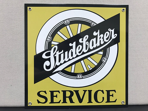 STUDEBAKER SERVICE REPRODUCTION SIGN