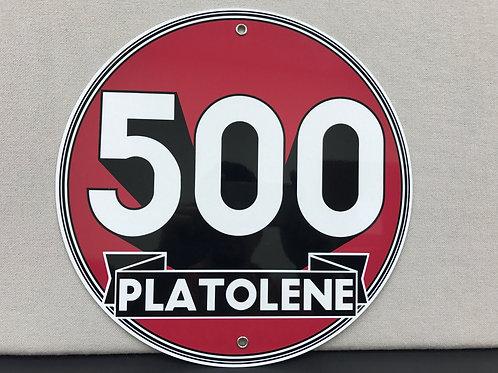 500 PLATOLENE REPRODUCTION SIGN