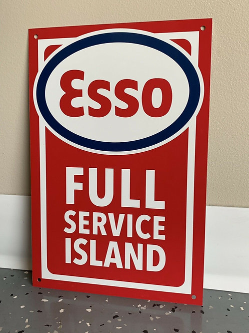 Esso Full Service Island