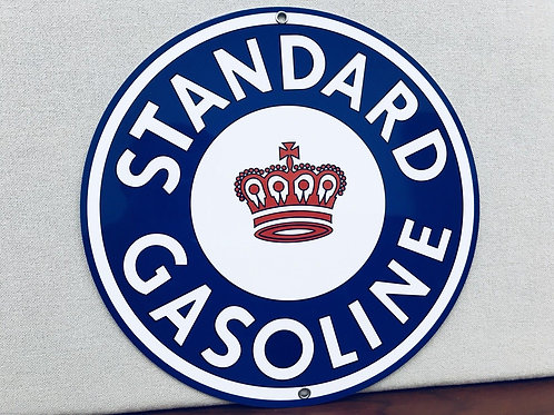 Standard Gasoline Crown Sign