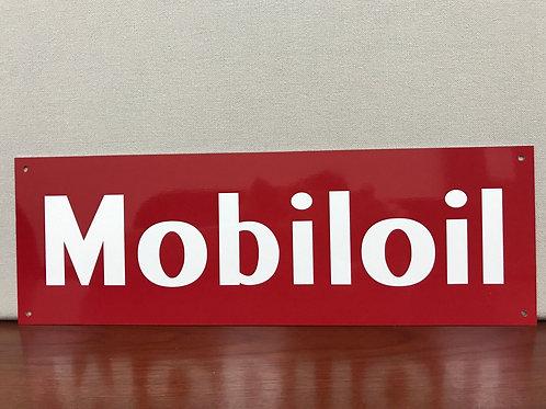Mobiloil Advertising Sign