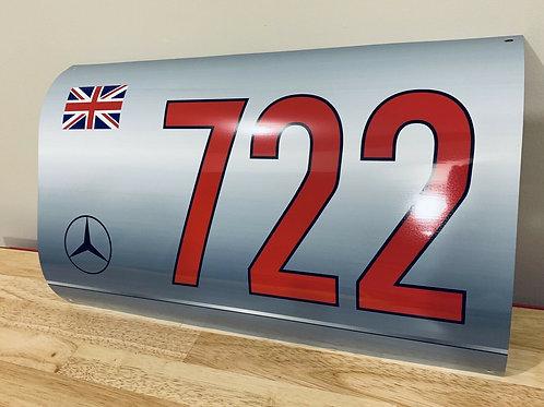 Stirling Moss Mercedes 300 SLR