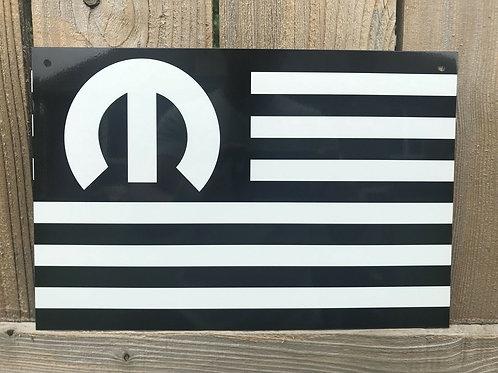 Mopar American Muscle Flag
