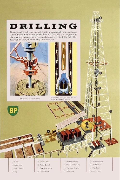 BP Oil Drilling Sign