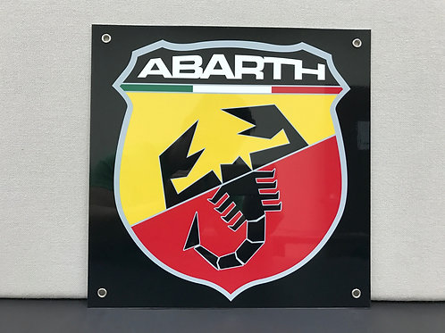 ABARTH REPRODUCTION SIGN