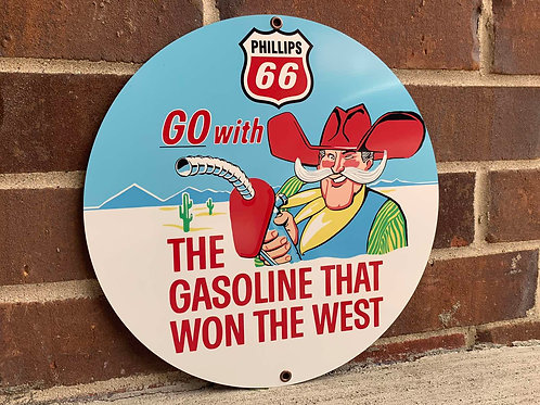 PHILLIPS 66 REPRODUCTION SIGN