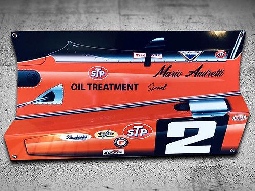 Mario Andretti Brawner Hawk Ford
