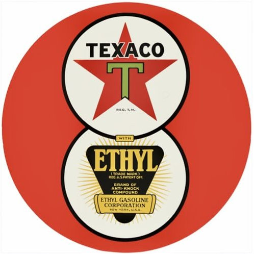TEXACO ETHYL GASOLINE REPRODUCTION SIGN