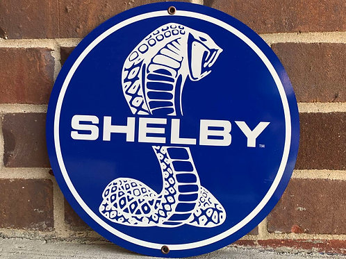 Shelby Cobra Sign