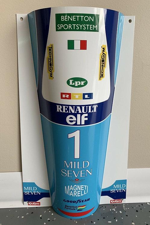 Michael Schumacher Benetton 195B