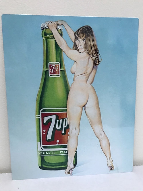 7UP REPRODUCTION SIGN