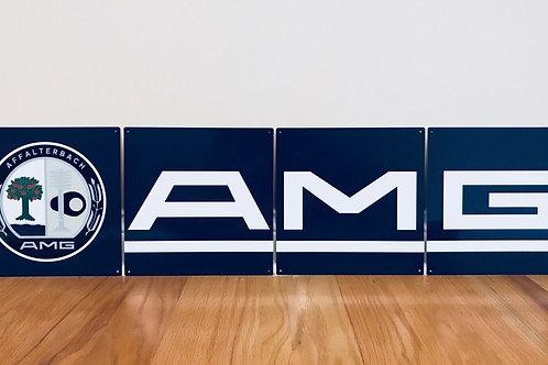 AMG - 4 PIECE SIGN
