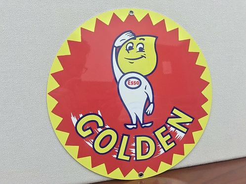 Esso Golden Gasoline Sign