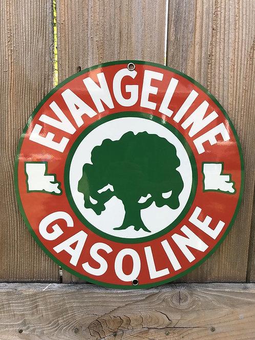 Evangeline Gasoline Sign