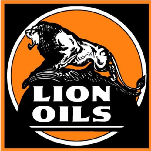 Lion Oils Advertising Sign