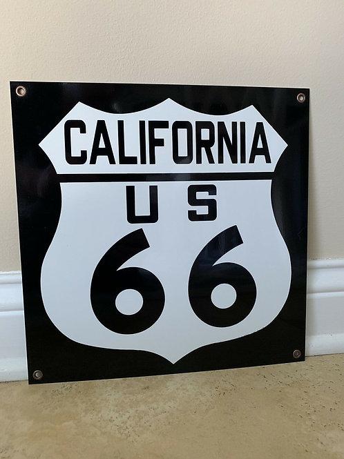 US Route 66 California Road Sign