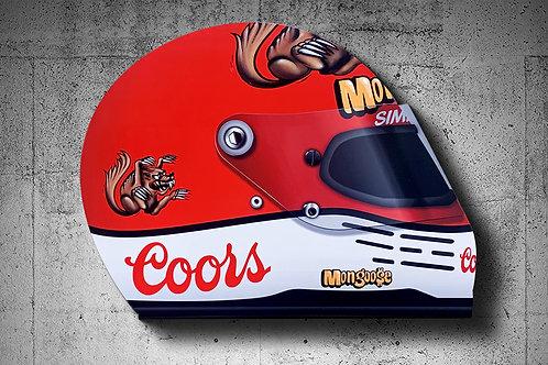 Mongoose Corvette Helmet