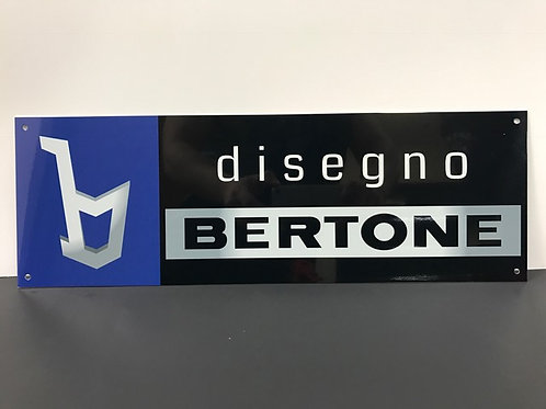 DISEGNO BERTONE REPRODUCTION SIGN