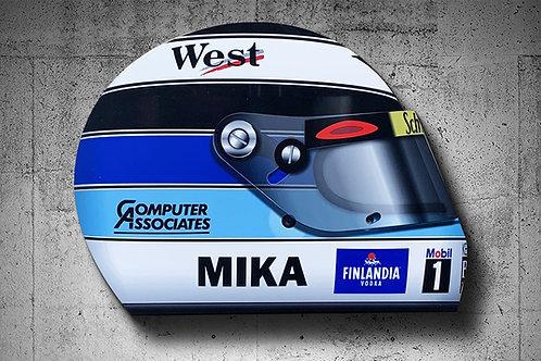 Mika Hakkinen 1999 F1 Helmet