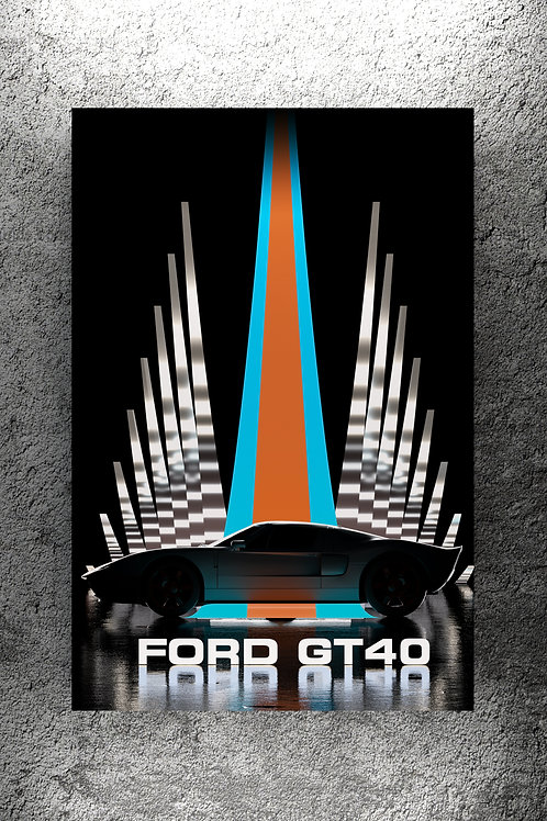 Ford GT40 Le Mans Winner