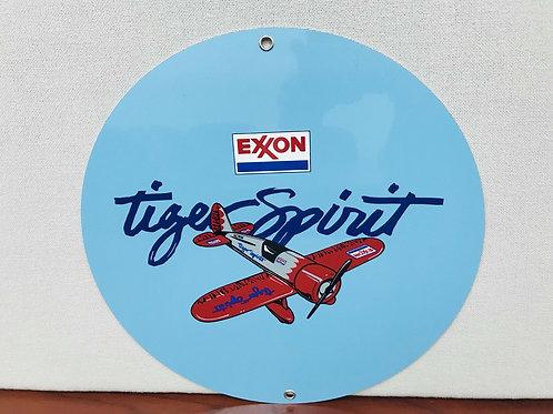 Exxon Tiger Spirit Aviation Sign