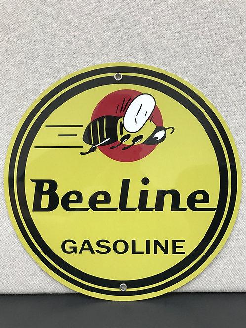 BEELINE GASOLINE REPRODUCTION SIGN