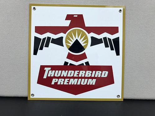 THUNDERBIRD PREMIUM REPRODUCTION SIGN