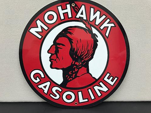 MOHAWK GASOLINE REPRODUCTION SIGN