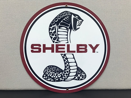 COBRA SHELBY REPRODUCTION SIGN