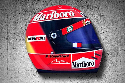 Michael Schumacher 2000 F1 Helmet