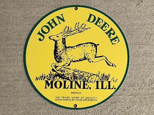 John Deere Reproduction Sign