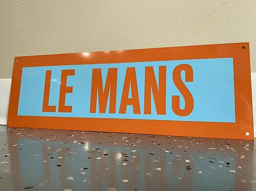 Steve McQueen Le Mans Sign