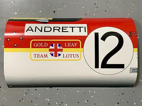 Mario Andretti Golden Leaf F1